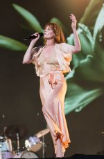 FLORENCE WELCH Performs at BBC Biggest Weekend Festival in Swansea 05/272018