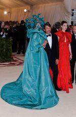 FRANCES MCDORMAND at MET Gala 2018 in New York 05/07/2018