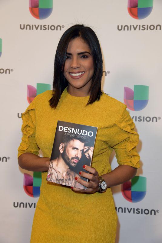 FRANCISCA LACHAPEL at Desnudo by Jomari Goyso Book Signing in Miami 05/01/2018