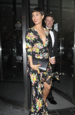 FRANKIE BRIDGE Leaves Park Plaza Hotel in London 05/08/2018