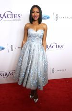 GABRIELLE DENNIS at 2018 Gracie Awards Gala in Beverly Hills 05/22/2018