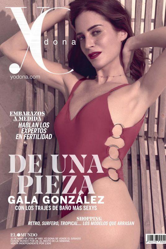 GALA GONZALEZ in Yo Dona, May 2018