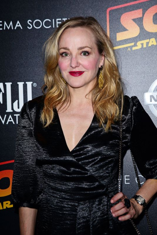 GENEVA CARR at Solo: A Star Wars Story Premiere in New York 05/21/2018
