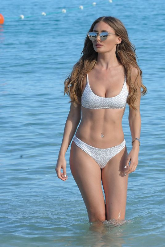 GEORGIA CLARKE in Bikini at a Beach in Tenerife 05/07/2018