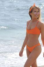 GEORGIA HARRISON in Bikini at a Beach un Ibiza 05/14/2018