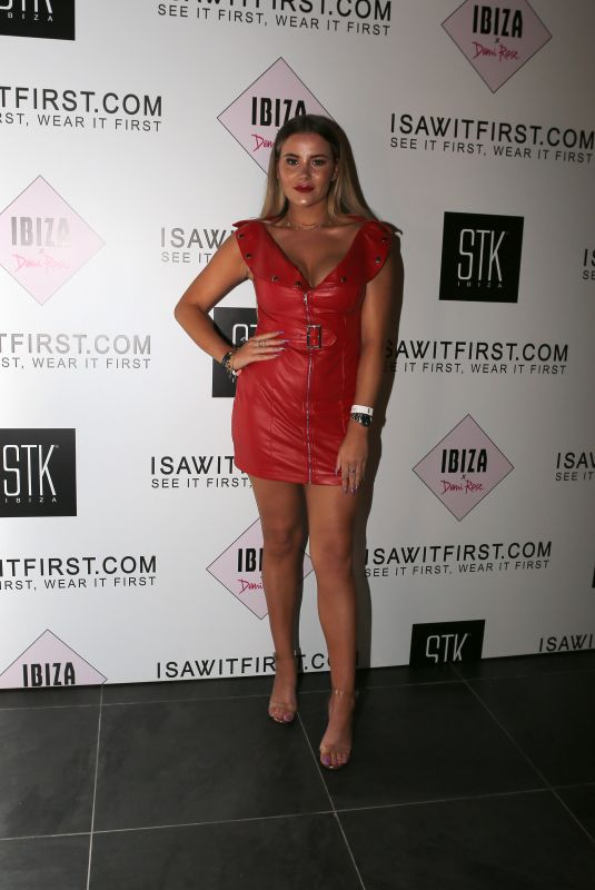 GEORGIA KOUSOULOU at isawitfirst x Demi Rose Collection Launch in Ibiza 05/28/2018