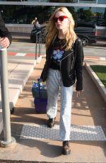 GEORGIA MAY JAGGER Arrives at Nice Aiport 05/07/2018