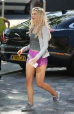 GEORGIA TOFFOLO Arrives at ITV Studios in London 05/08/2018