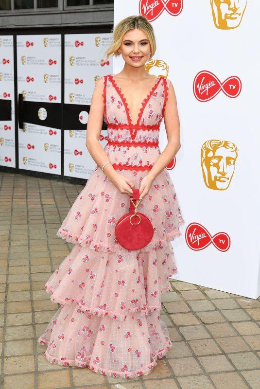 GEORGIA TOFFOLO at Bafta TV Awards in London 05/13/2018