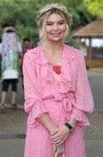 GEORGIA TOFFOLO at Chelsea Flower Show in London 05/21/2018