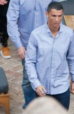 GEORGINA RODRIGUEZ and Cristiano Ronaldo Out in Malaga 05/30/2018