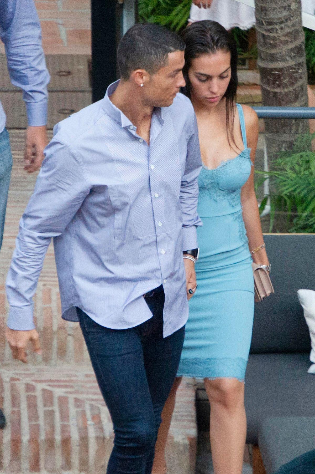 Georgina Rodriguez And Cristiano Ronaldo Out In Malaga 05 30 2018 Hawtcelebs