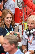 GERI HALLIWELL at 76th Grand Prix of Monaco 05/27/2018