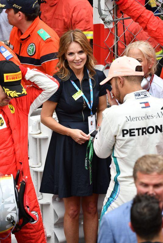 GERI HALLIWELL at 76th Grand Prix of Monaco 05/27/2018