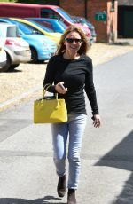 GERI HALLIWELL Out and About in Yattendon 05/15/2018