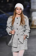 GIGI HADID at Chanel Cruise 2018/2019 Collection Launch in Paris 05/03/2018