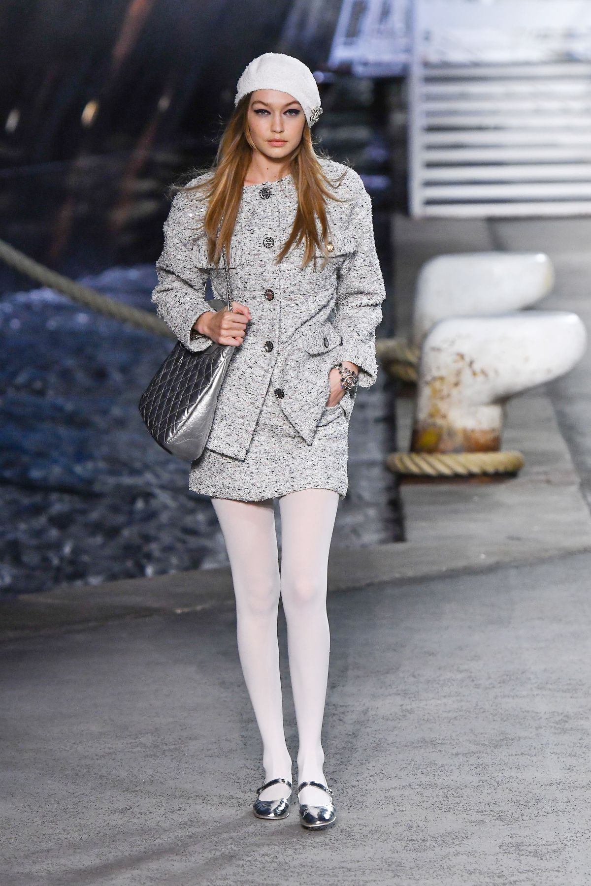 GIGI HADID at Chanel Cruise 2018/2019 Collection Launch in ...
