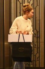 GIGI HADID Out in New York 05/14/2018