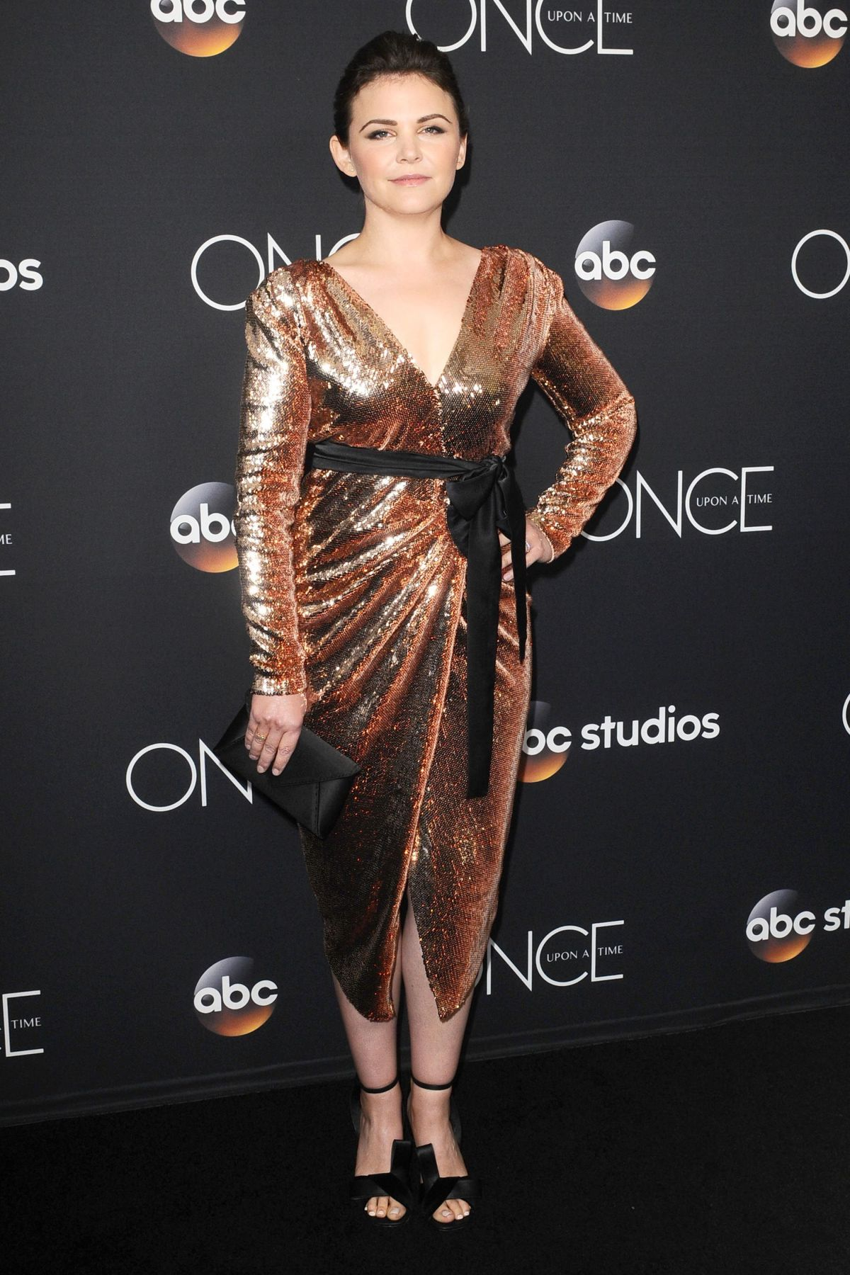 GINNIFER GOODWING at Once Upon A Time Series Finale ...