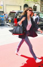 GISELE BUNDCHEN Arrives at Mark Hotel in New York 05/07/2018