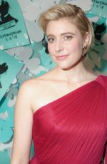 GRETA GERWIG at Tiffany & Co. Jewelry Collection Launch in New York 05/03/2018