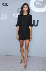 GRETA ONIEOGOU at CW Network Upfront Presentation in New York 05/17/2018