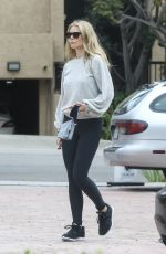 GWYNETH PALTROW Leaves Tracy Anderson Studio in Brentwood 05/12/2018