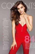 HAILEE STEINFELD in Cosmopolitan Magazine, Korea May 2018 Issue