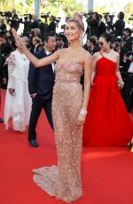 HAILEY BALDWIN at Girls of the Sun Premiere at Cannes Film Festival 05/12/2018