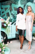 HAILEY BALDWIN at Tiffany Paper Flowers Event in New York 05/03/2018