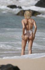 HAILEY BALDWIN in Swimsuit at a Beach in Hawaii 05/30/2018