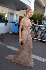 HAILEY BALDWIN Leaves Palace Festival in Cannes 05/12/2018