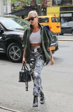 HAILEY BALDWIN Out and About in New York 05/05/2018