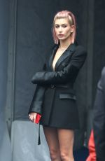 HAILEY BALDWIN Out in New York 05/16/2018