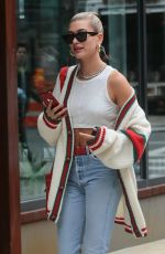 HAILEY BALDWIN Out in New York 05/22/2018