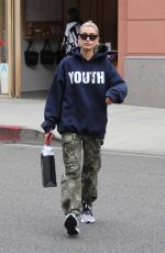 HAILEY BALDWIN Out Shopping in Beverly Hills 05/18/2018