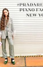 HAILEY GATES at Prada Resort: 2019 Show in New York 05/04/2018