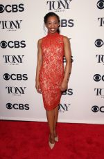 HAILEY KILGORE at Tony Awards Nominees Photocall in New York 05/02/2018