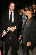 HALLE BERRY and Keanu Reeves on the Set of John Wick 3 in New York 05/23/2018