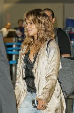 HALLE BERRY at JFK Airport in New York 05/22/2018