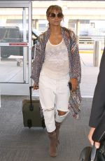 HALLE BERRY at JFK Airport in New York 05/24/2018