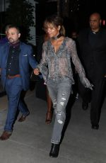 HALLE BERRY Leaves Beauty and Essex in Hollywood 05/04/2018