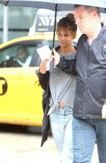 HALLE BERRY Out and About in New York 05/27/2018