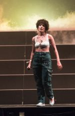 HALSEY Performs at Hangout Music Festival in Gulf Shores 05/19/2018