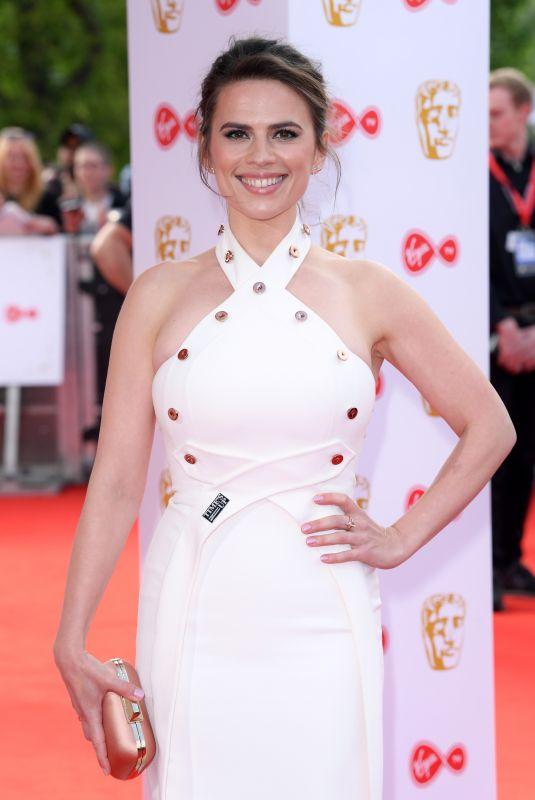 HAYLEY ATWELL at Bafta TV Awards in London 05/13/2018