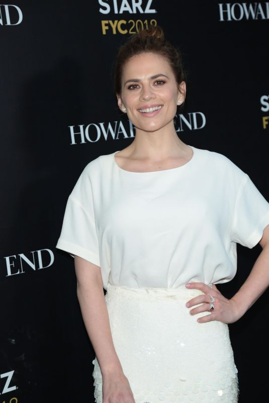 HAYLEY ATWELL at Counterpart and Howard