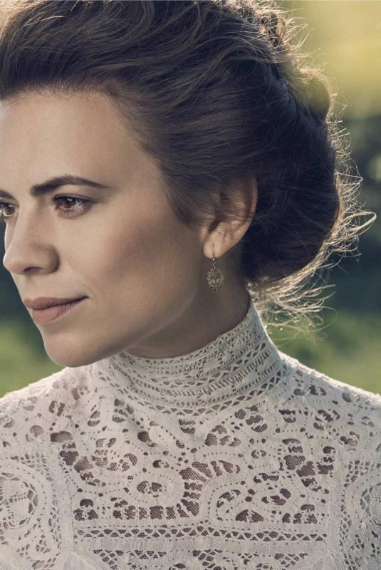 HAYLEY ATWELL in Emmy Magazine, May 2018