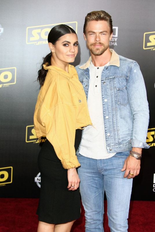 HAYLEY ERBERT and Derek Hough at Solo: A Star Wars Story Premiere in Los Angeles 05/10/2018