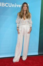 HEIDI KLUM at NBC/Universal Summer Press Day in Universal City 02/05/2018