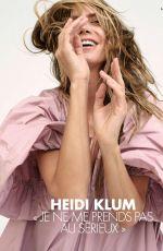 HEIDI KLUM in Elle Magazine, France May 2018